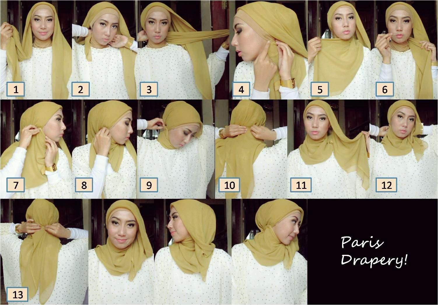 Tutorial Hijab DianBlog